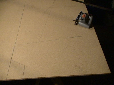 Layout and Cut the Side Panels
