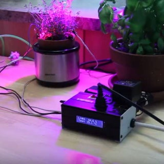 An Arduino, Hydroponics, and You: a Solar Powered Microcontroller Garden
