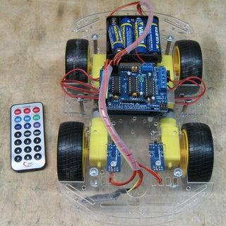 Arduino Bluetooth Controlled RC Car