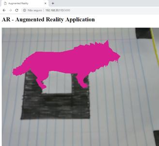 Running AR Application