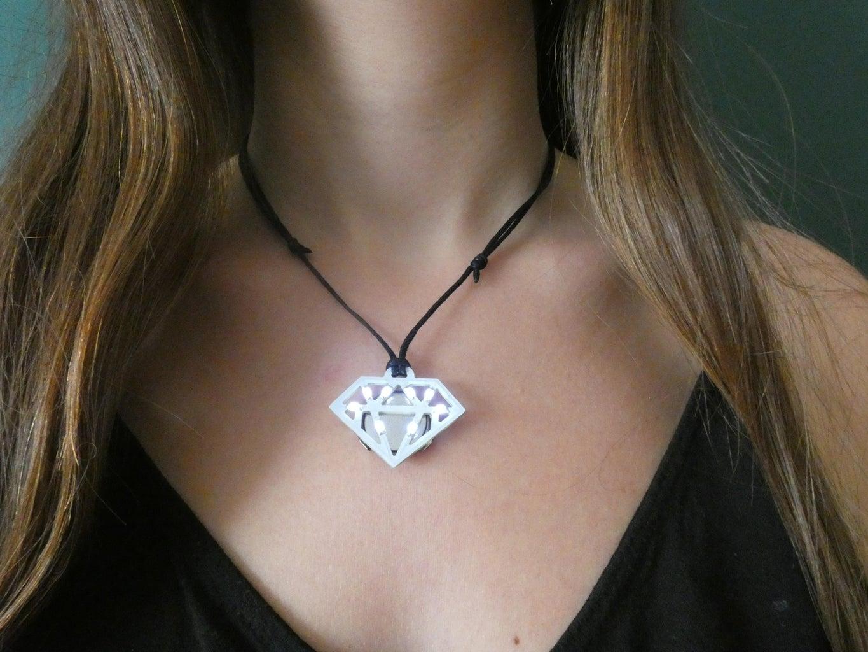Diamond : White PCB & White LED