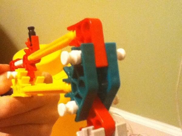 Knex Dual Wield Plasma Pistols