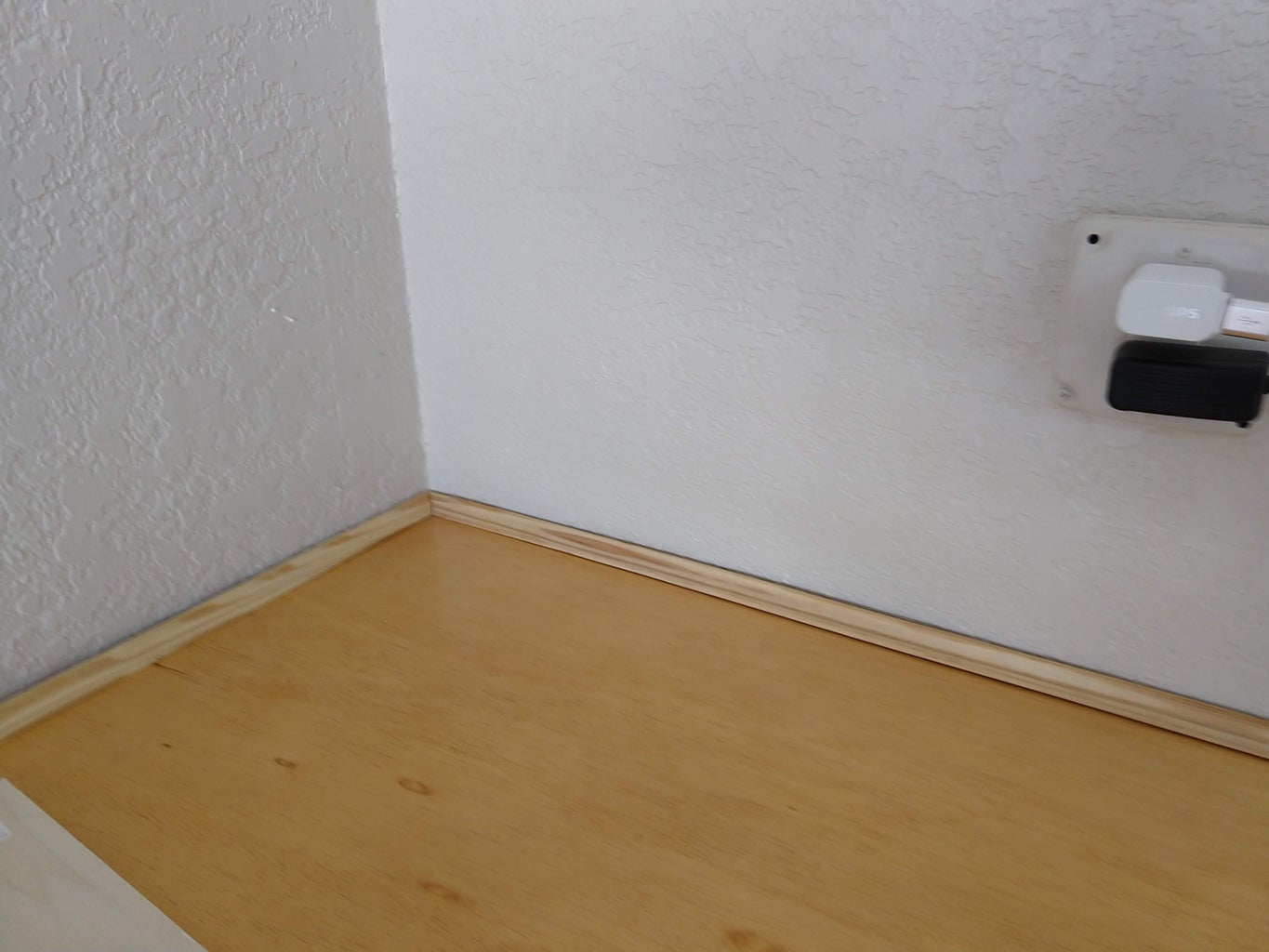 Corner Trim by the Wall