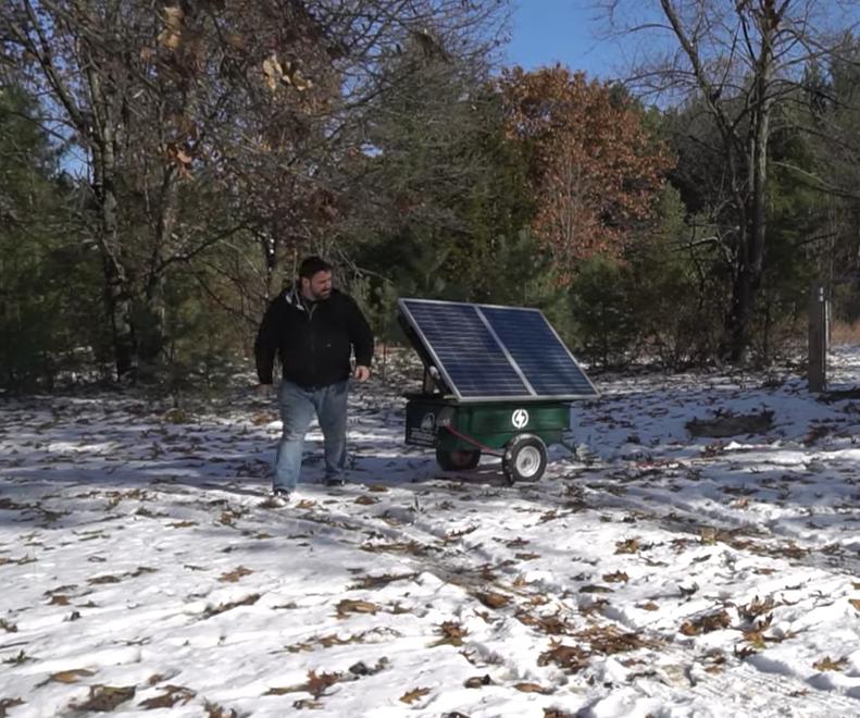 DIY Portable Solar Panel Generator Trailer