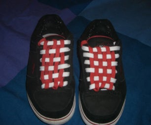 Checkerboard Your Shoelaces
