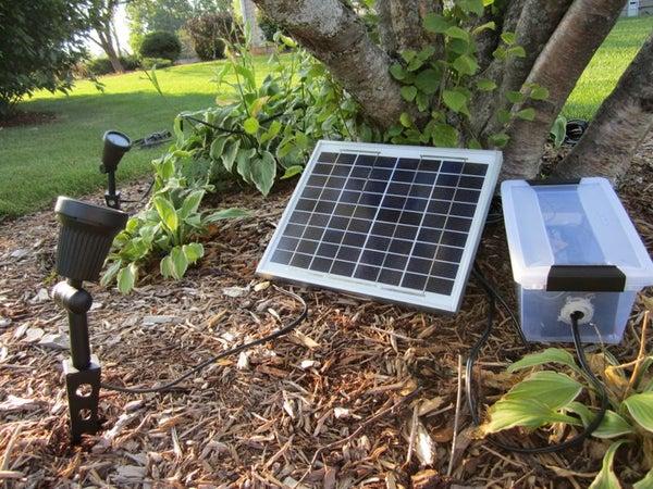 High Powered LED Solar Lighting System