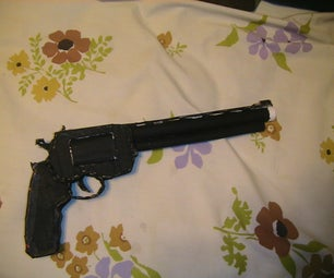 Smith & Wesson .44 Magnum Cardboard