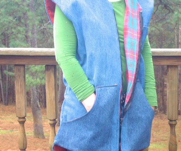 Lined Vest From Old Clothing