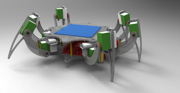 How to Build a Wireless Hexapod Robot