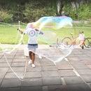 Guar Gum Bubbles + Wand