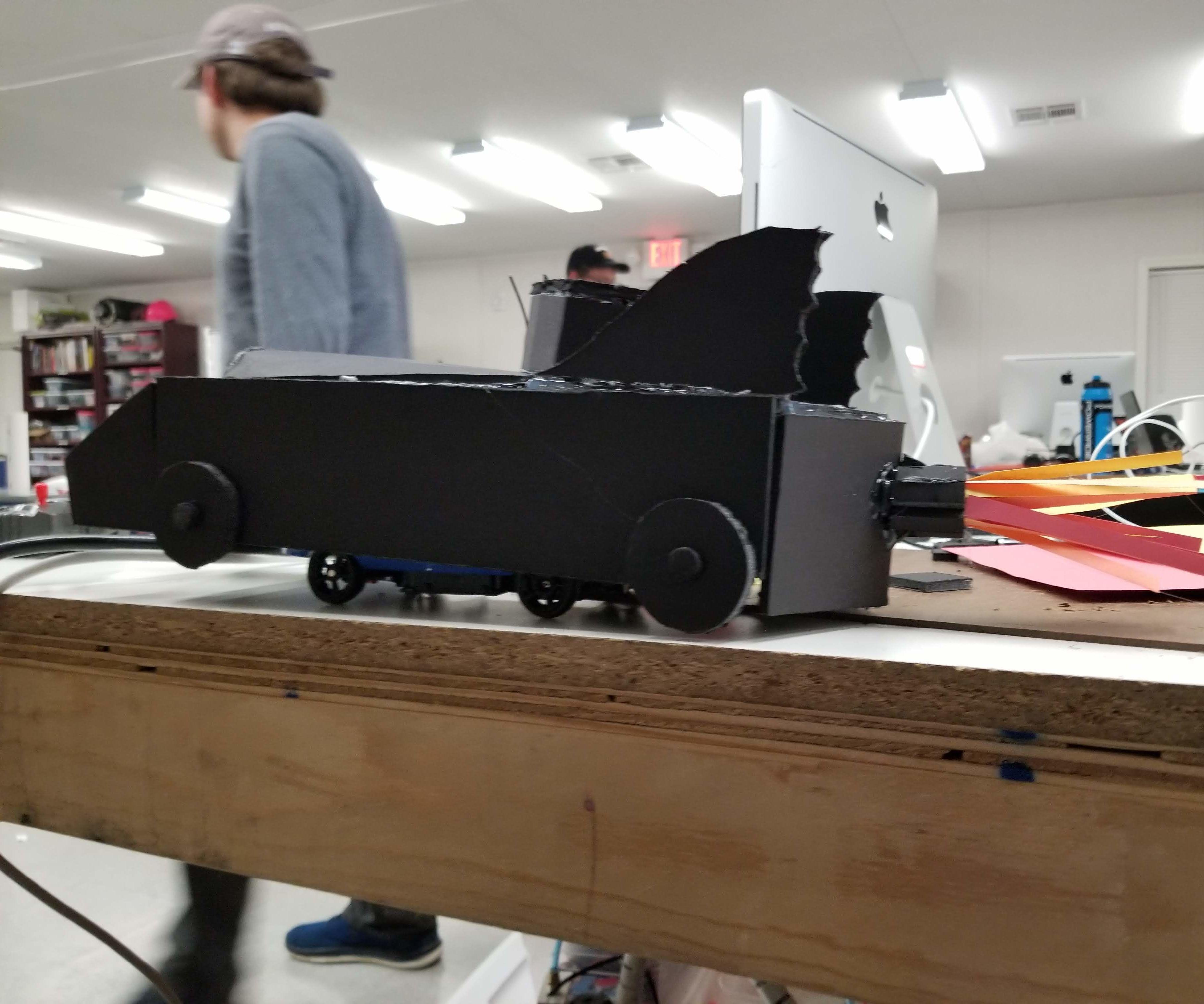 Foam Core RC Batmobile