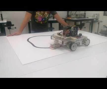 Easy Line Follower Control Circuit With GreenPAK