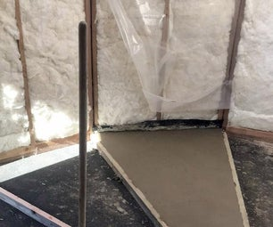 A Soil Cement Sectional Floor