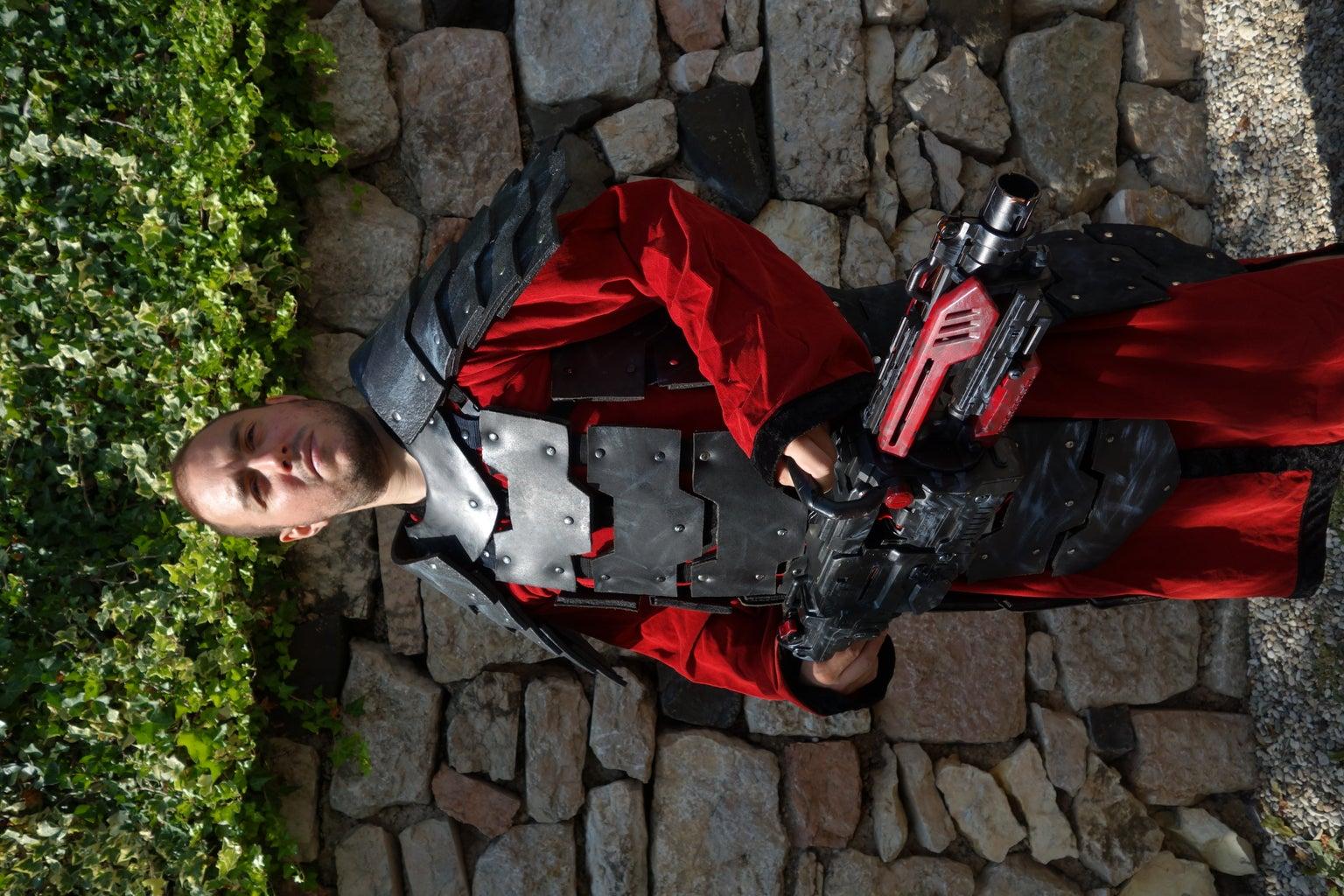 Futuristic Plate Armour (Larp)