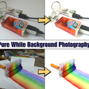 Pure White Background Photography Using Smartphone