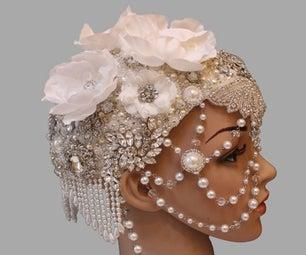 How to Make a Jeweled Headpiece