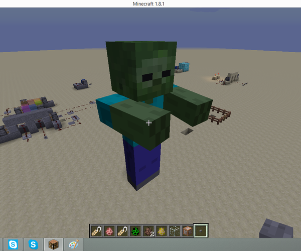 How to Summon Giant Zombies in Vanilla Minecraft!