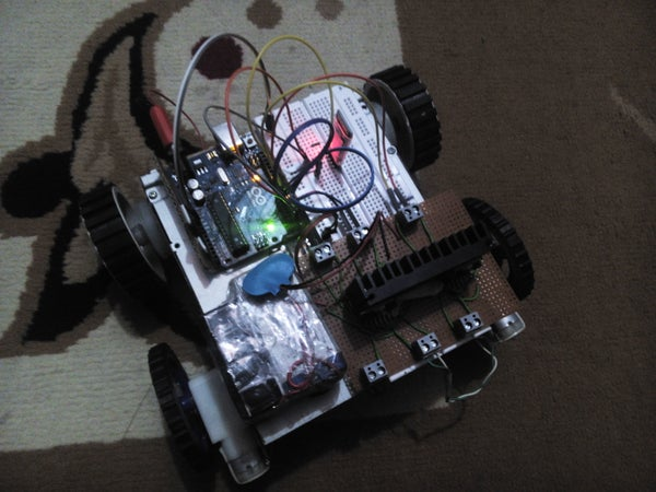 Android Controlled ROBO