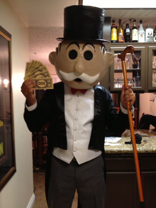 Home Made Mr. Monopoly
