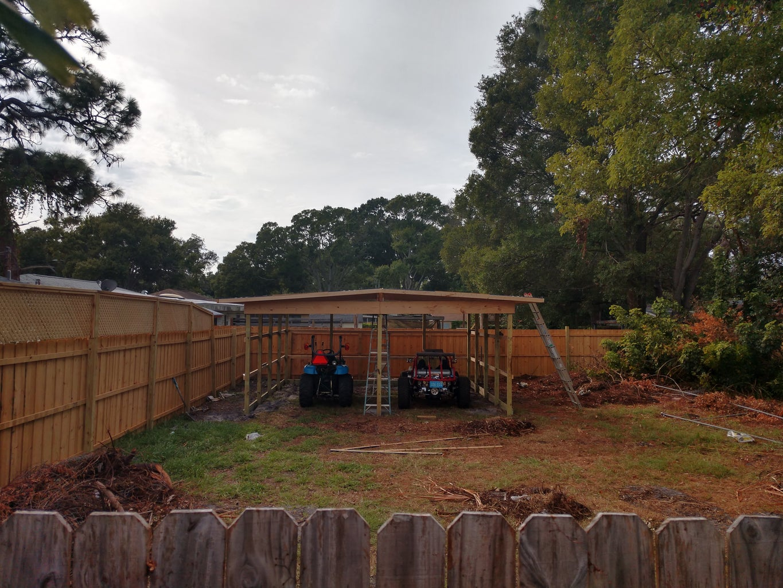 Garage Is Being Built