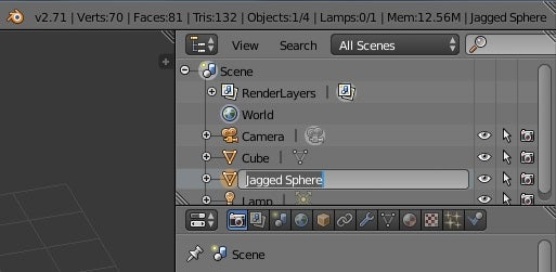 Adding and Naming Objects