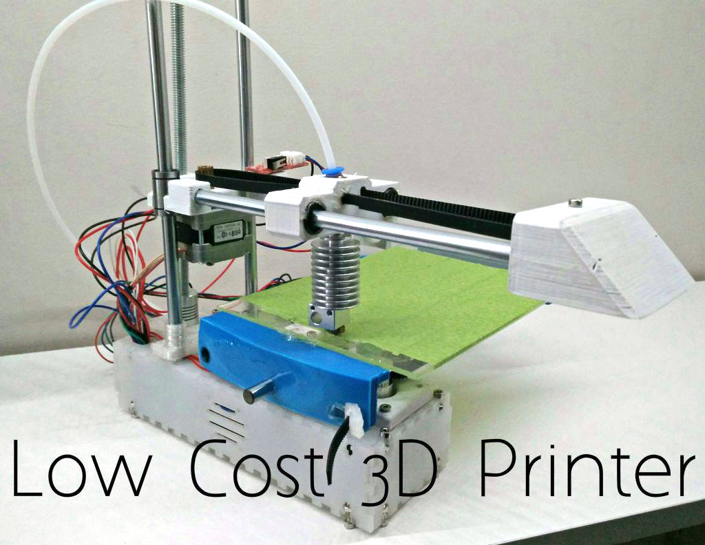 Edge 3D Printer 1.0 - an affordable open source 3D printer!