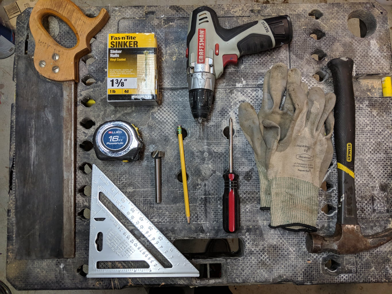 Gather Tools and Materials