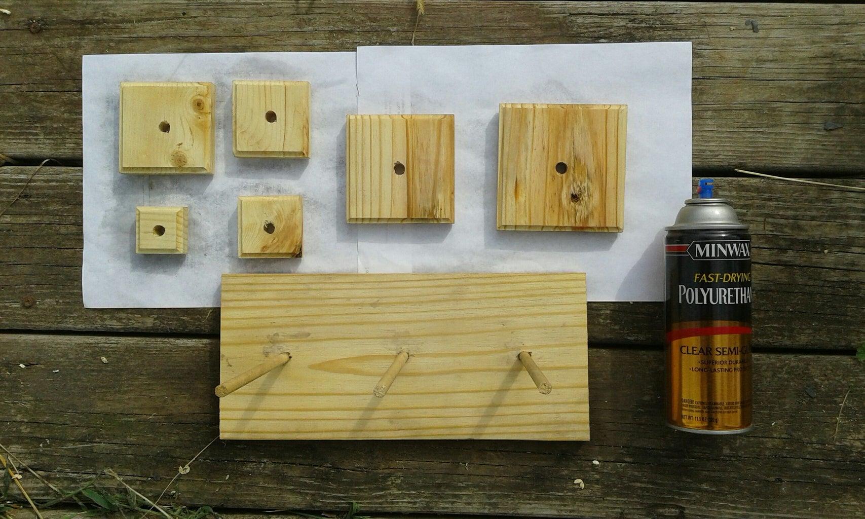 Optional Step: Finishing the Wood
