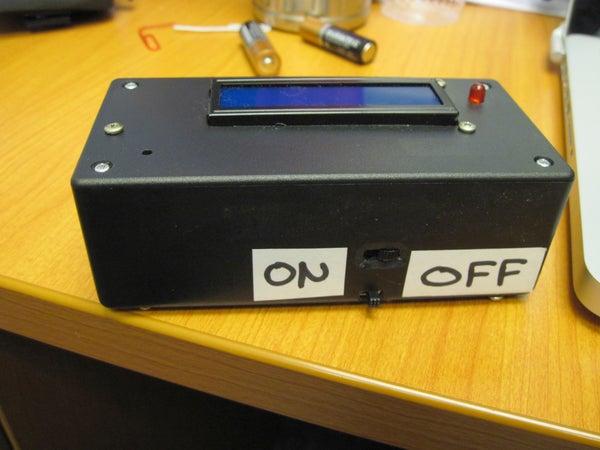 Arduino Geiger Counter
