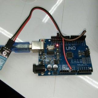 Arduino Nano: Temperature and Humidity DHT11/DHT21/DHT22 Sensor Module With Visuino