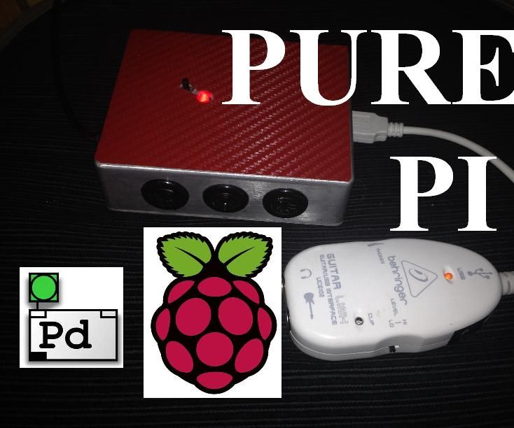 Pure Pi: Control custom stompbox effects on a Raspberry Pi with a smartphone