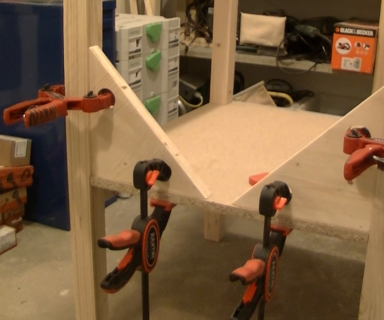 Shop made angle clamps