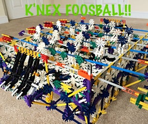 K'nex Foosball - World Cup 2014 Edition: Germany Vs Argentina