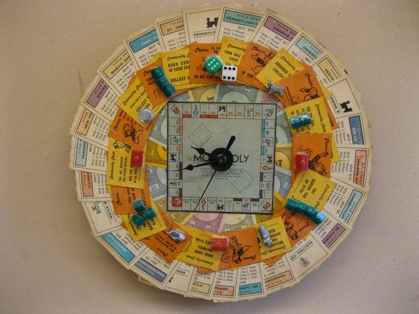 MONOPOLY CLOCK