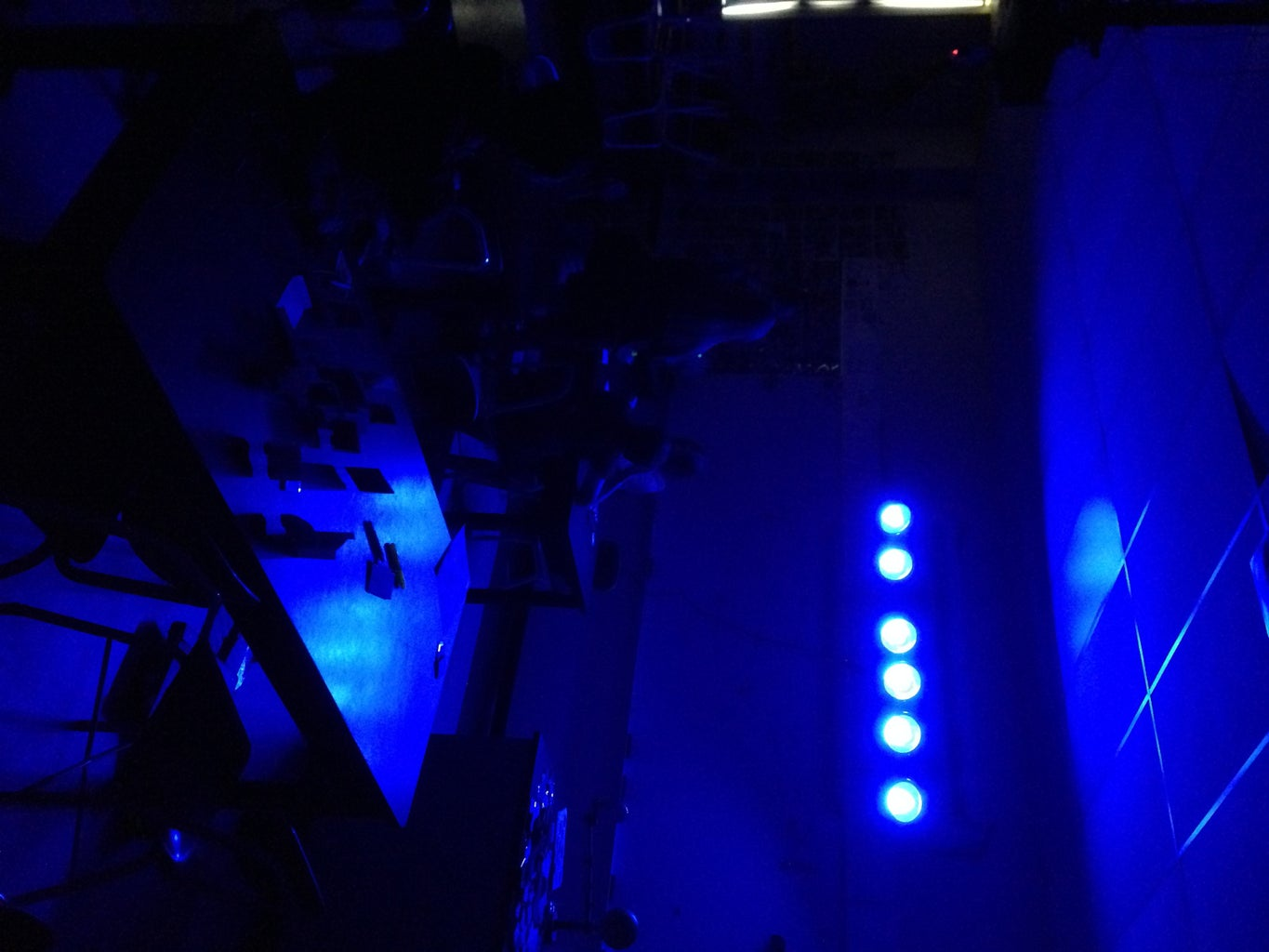Testing Out the Colored LEDs