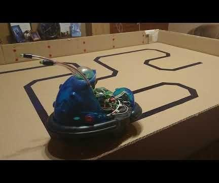 Converting Cybot to Run on Four 3.7 Volt Rechargeable Batteries