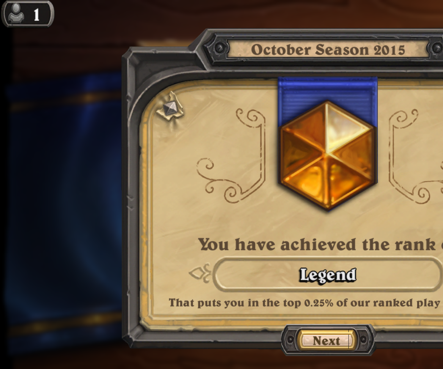 Comprehensive guide to legend in Hearthstone