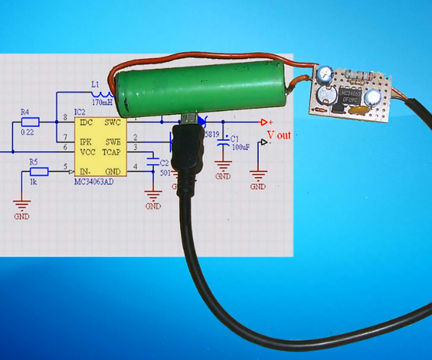 Homemade Power for Mobile Charge with MC34063 DIY Board Free Energy Generator