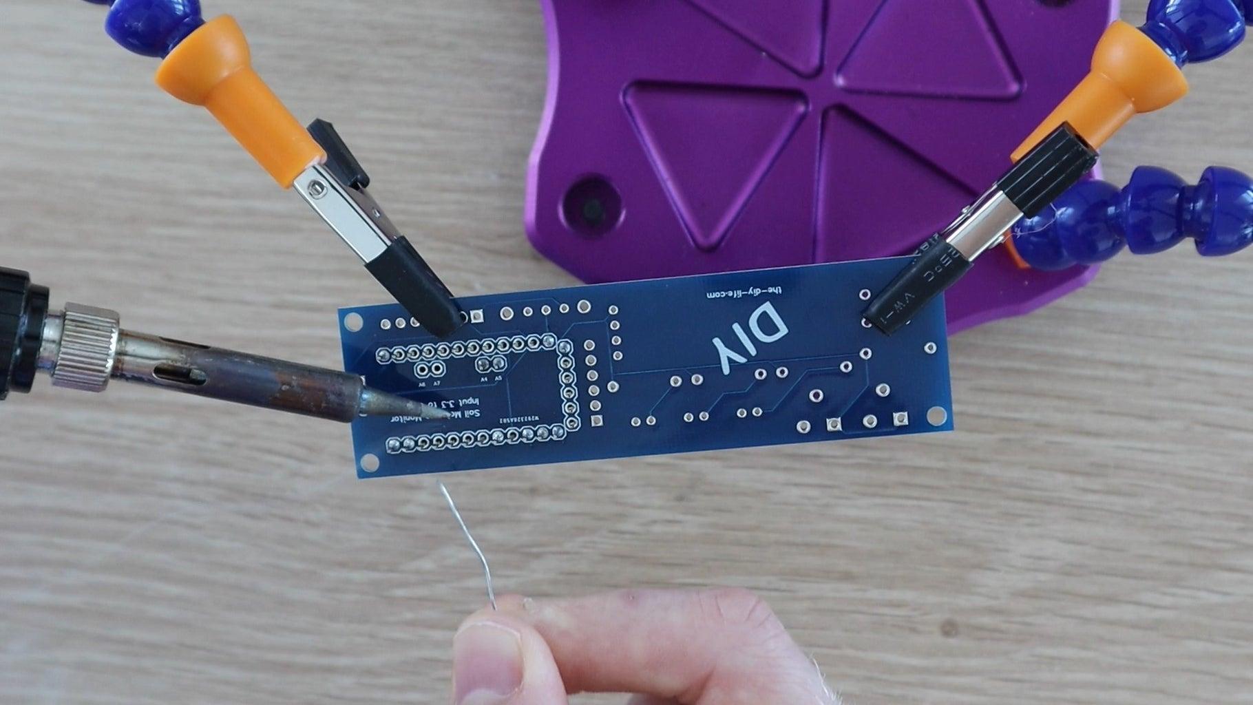 Assemble the PCBs