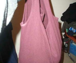 Tshirt-bag-tshirt   or the Emergency Eco Friendly Bag