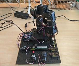 Autonomous Gripforce Stabilizer Robotic Arm