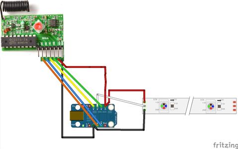 Breadboarding/PCB Soldering RF Receiver