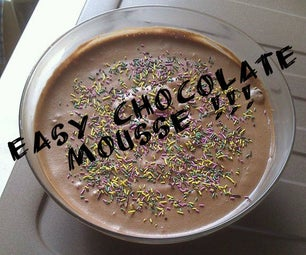 Easy Chocolate Mousse !!
