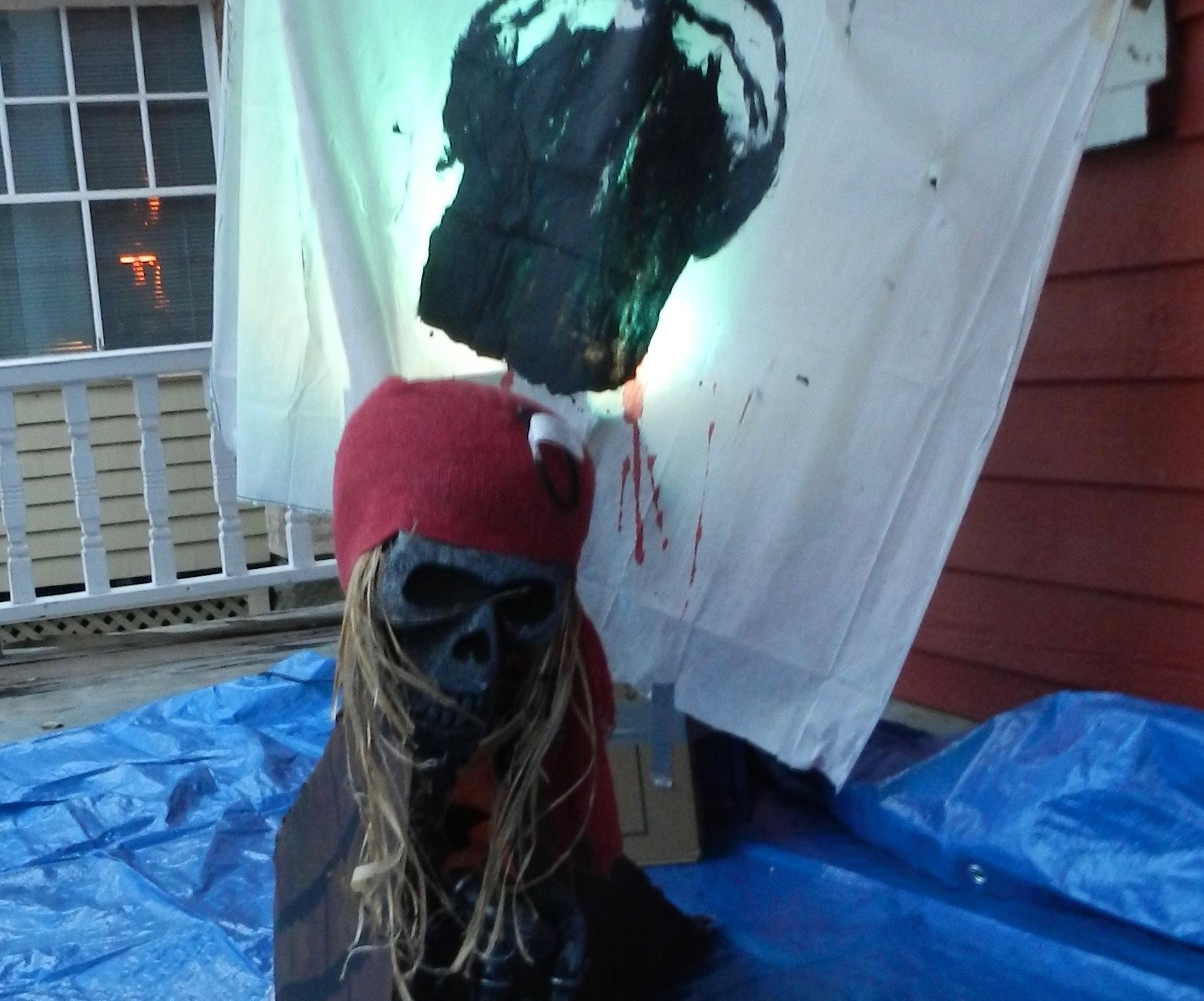 My Halloween display 2015