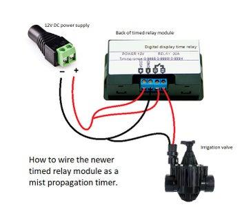 Inexpensive Plant Propagation Mist Controller
