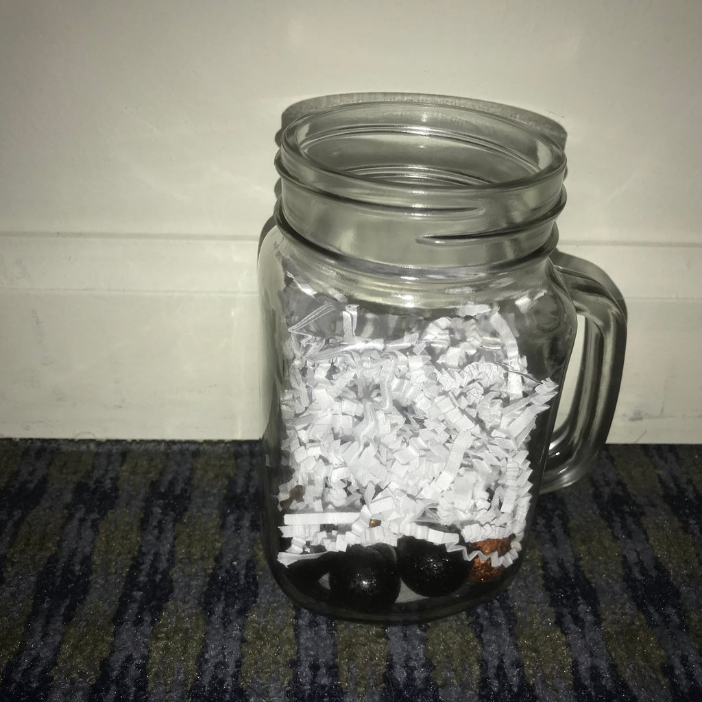Add Decorative Shred & More Glitter Vase Fillers