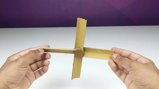 Apply Super Glue All Over It and Stick the 4 Foldable Cardboard Pieces As Shown.