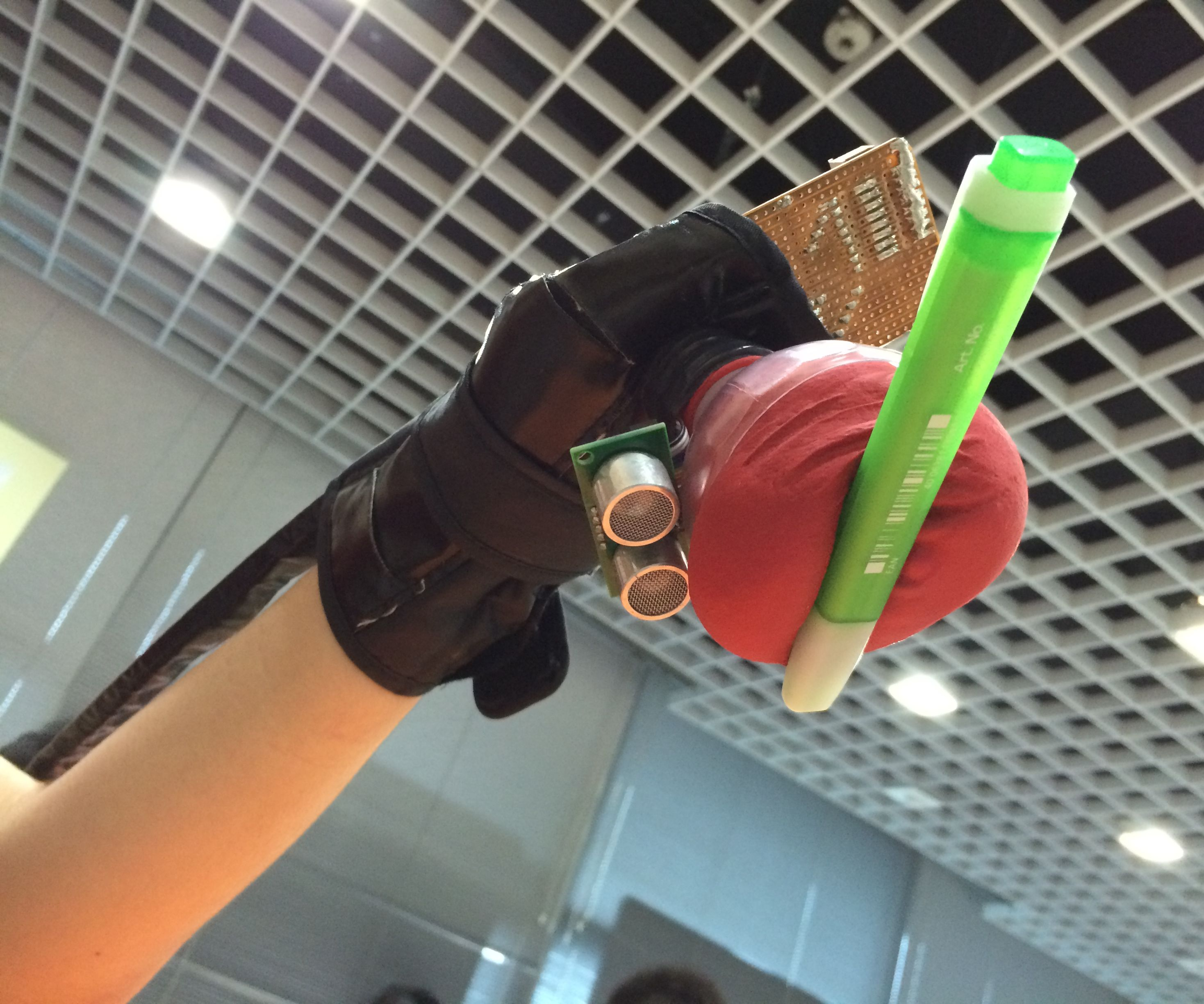 Wearable Assistive Tech Gripper: Doraemon's Hand