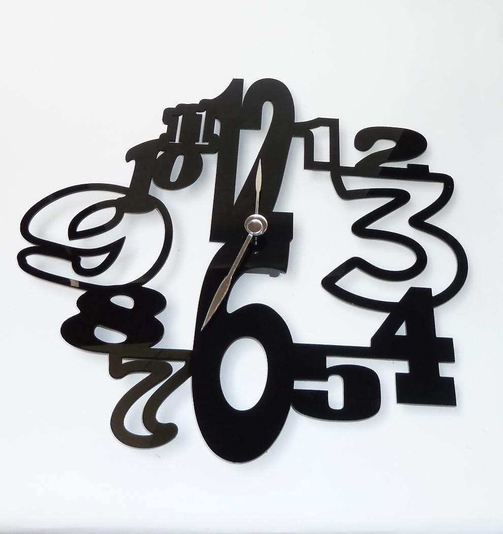 Crazy Numbers Clock