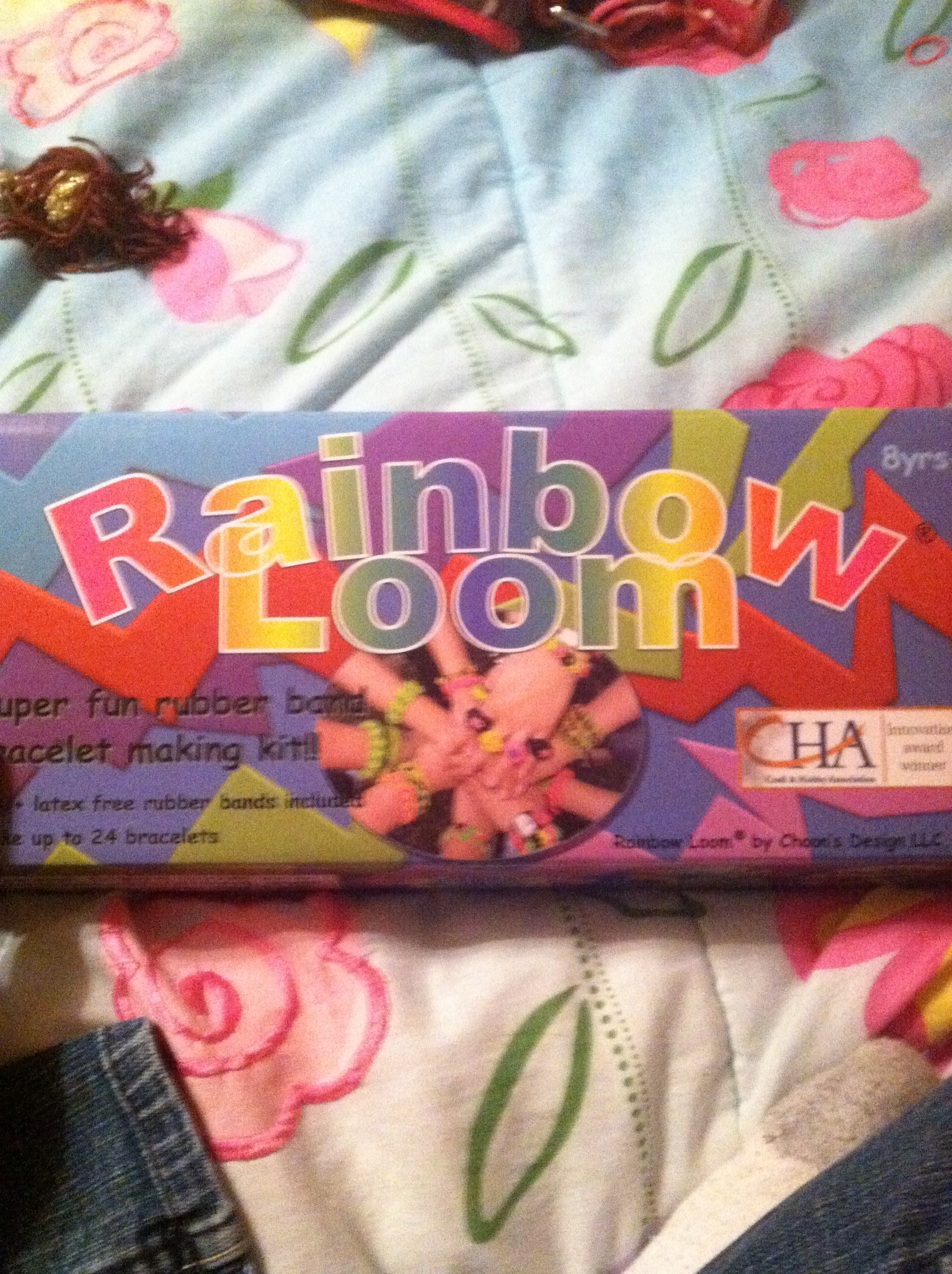 organize rainbow loom